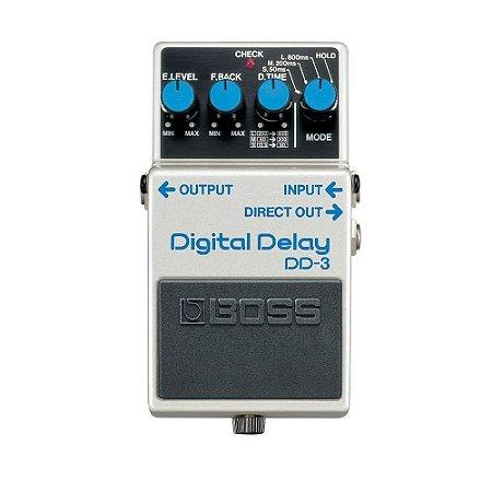 Pedal Para Guitarra Boss Dd 3 T Digital Delay