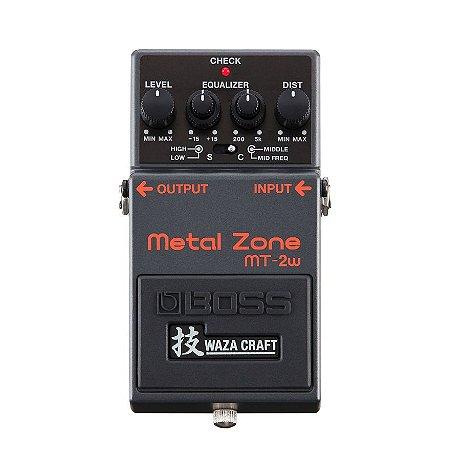 Pedal para Guitarra Boss MT 2W Metal Zone