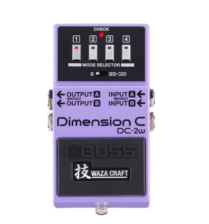 Pedal para Guitarra Boss DC 2W Dimension