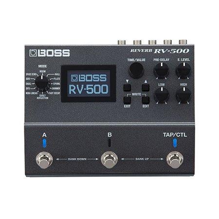 Pedal P/ Guitarra Boss Rv 500 Reverb