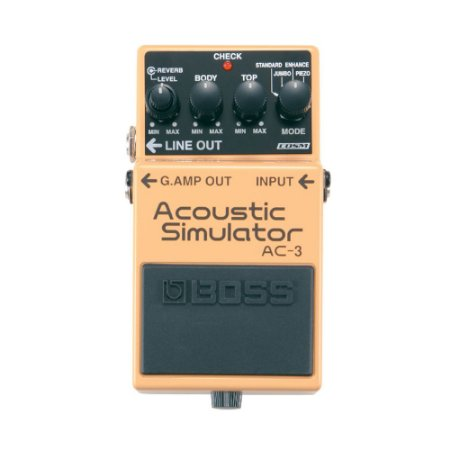 Pedal P/ Guitarra E Violao Boss Ac 3 Acoustic