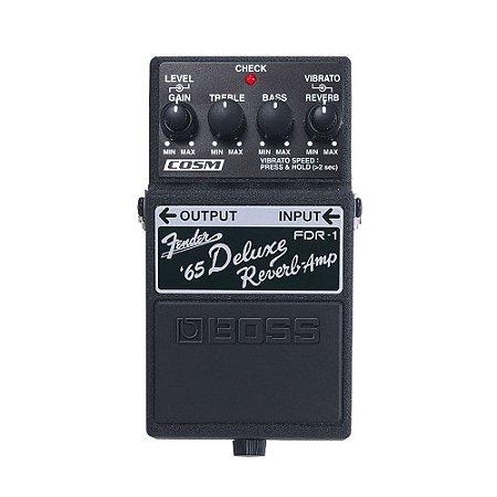 Pedal P/ Guitarra Boss Fdr 1 Delux Reverb 65