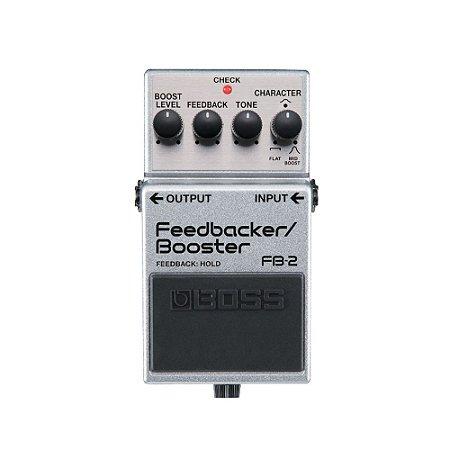 Pedal P/ Guitarra Boss Fb 2 Feedbacker/ Booster