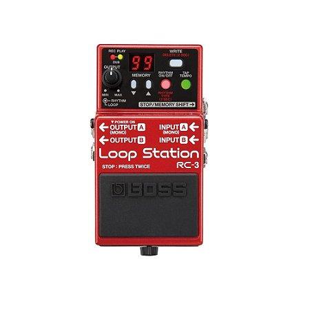 Pedal Loop Boss Rc 3 Loop Station