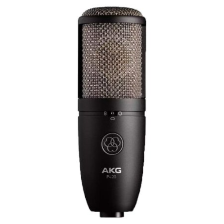 Microfone Estudio Condensador Akg P 420 Perception
