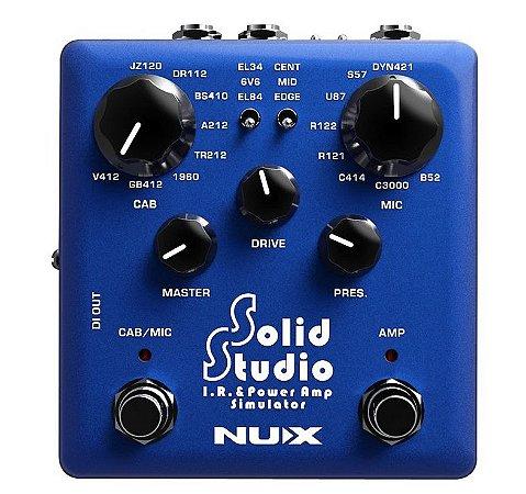 Pedal Nux Solid Studio I.R. e Power Amp Simulator