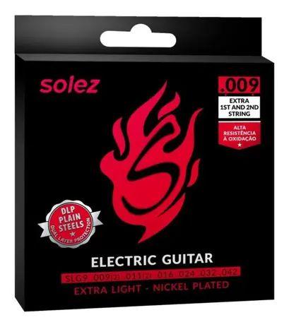 Encordoamento Solez Guitarra 0.09 Slg 9