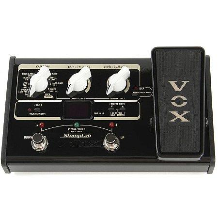 Pedaleira P/ Guitarra Vox Stomplab 2 G