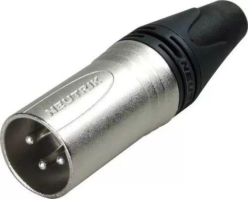 Conector Xlr Macho Neutrik Nc 3 Mxx 3 Pinos