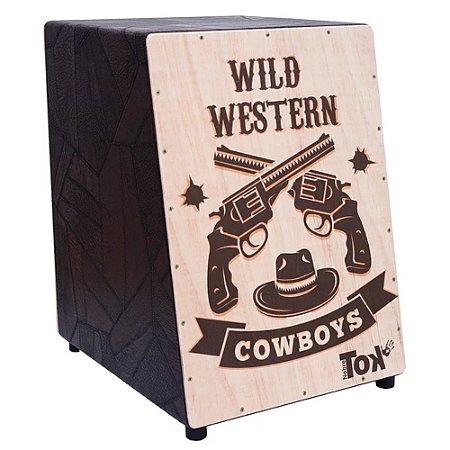 Cajon Nobre Tok Acústico Wild Western 311