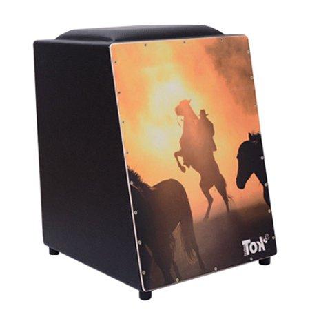Cajon Nobre Tok Elétrico com Bongo Cowboy 223