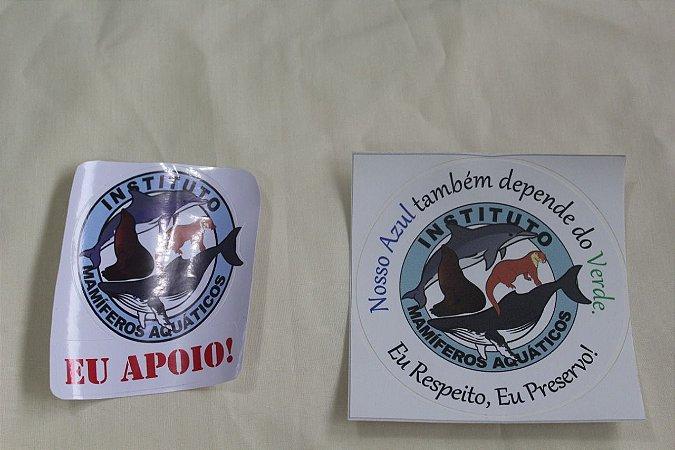 Adesivos Instituto Mamíferos Aquáticos
