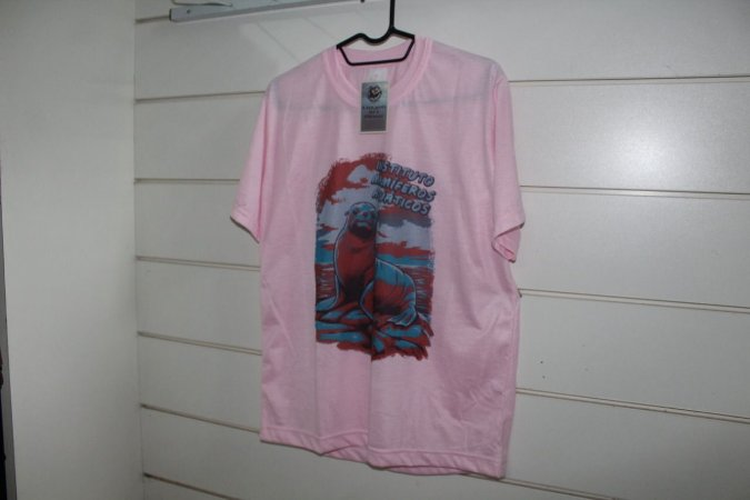 Camisa Lobo-marinho Instituto Mamíferos Aquáticos