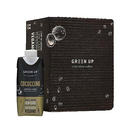 Coldbrew Cococcino 330ml Greenup Caixa com 12 Unidades