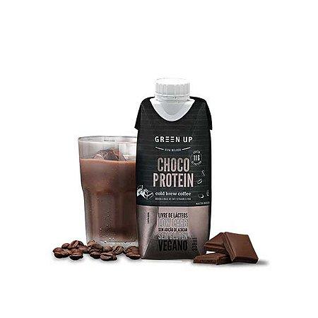 ColdBrew Chocolate Protein GreenUp 330ml