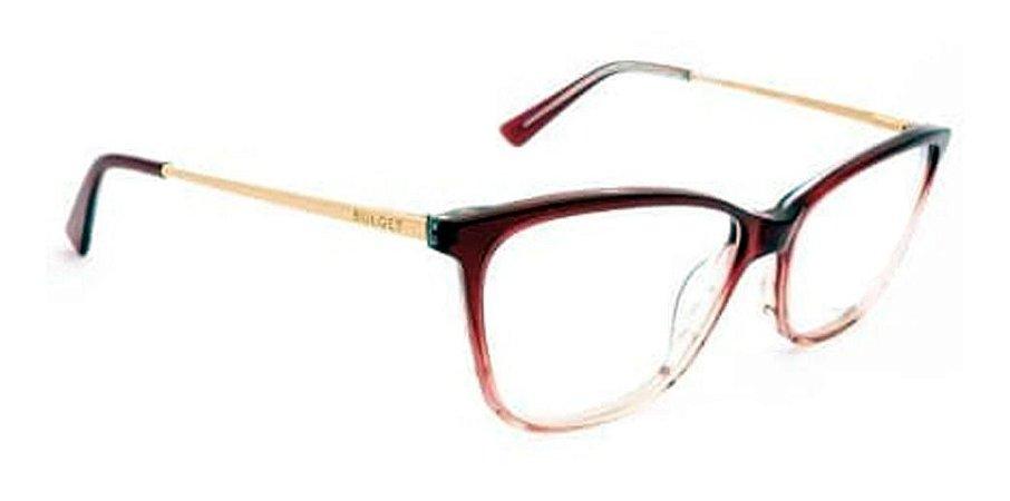 Óculos Armação Bulget Bg7092 C01 Violeta  Feminino