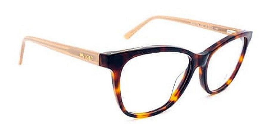Óculos Armação Bulget Bg6372n G21 Demi Marrom  Mesclado