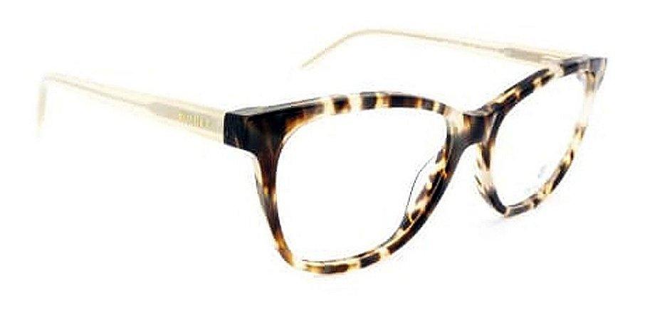 Óculos Armação Bulget Bg6372n G22 Demi Claro Mesclado