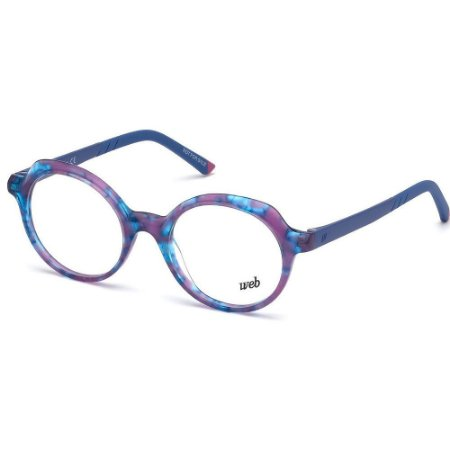 Óculos Armação Web WE5263 086 Azul Mesclado Infantil