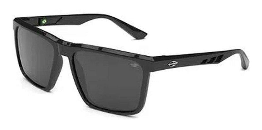 Óculos De Sol Mormaii Madri Preto Lente Cinza Escuro  Casual