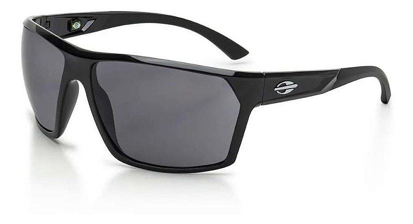 Óculos De Sol Mormaii Storm Preto Lente Cinza Escuro Mascul