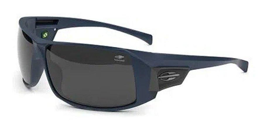 Óculos De Sol Mormaii Nazaré Azul Escuro Lente  Polarizada