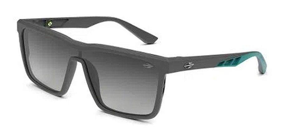 Óculos De Sol Mormaii Roma Cinza Com Verde Lente Verde  G15