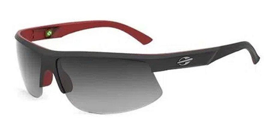 Óculos De Sol Mormaii Thunder 2 Preto Lente Cinza  Escura