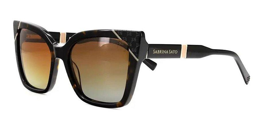 Óculos De Sol Sabrina Sato Ss642 C3 Tartaruga  Feminino