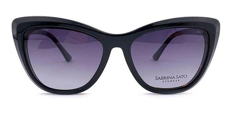 Óculos Armação Sabrina Sato Ss127 C2 Tartaruga  Clip On