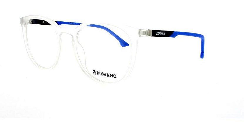 Óculos Armação Ro1059c2 Transparente Fosco Acetato Masculin