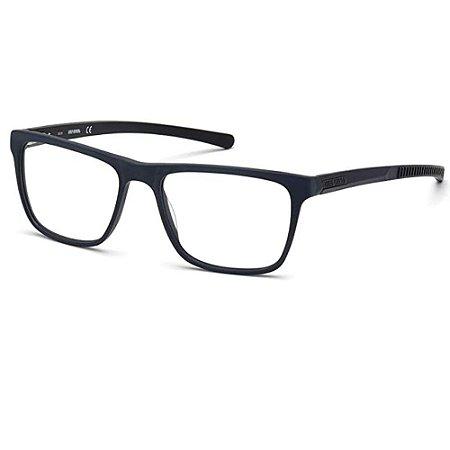 Óculos Armação Harley Davidson HD0792 091 Azul Fosco Acetato