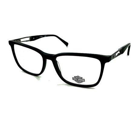 Óculos Armação Harley Davidson HD0873 002 Preto Fosco