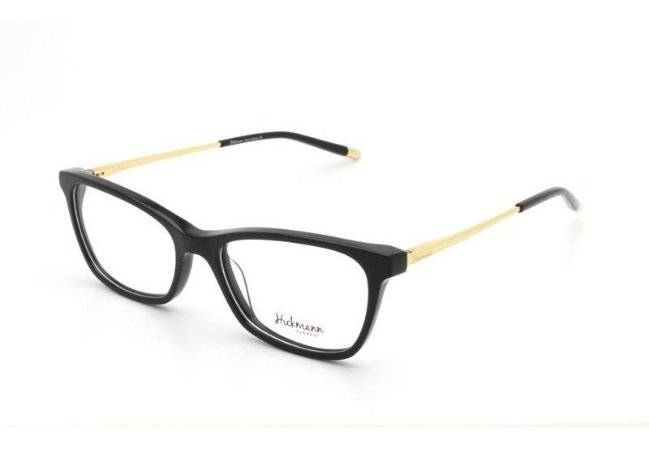 Óculos Armação Hickmann Hi6043 A01 Preto Feminino