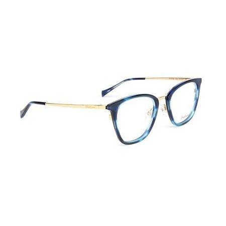 Óculos Armação Hickmann HI1070B E02 Azul Mesclado Feminino