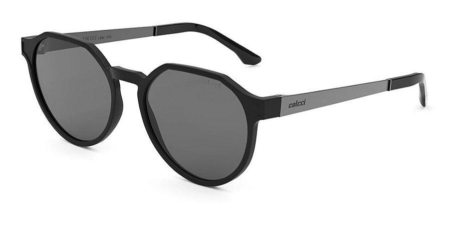 Óculos De Sol Colcci  Unisex Preto Fosco C0185a1401