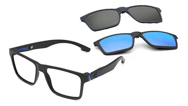 Óculos Armação Mormaii Swap Ng Duo M6098a4156 Preto Clip-on