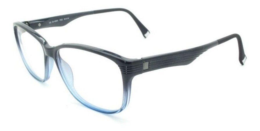 Óculos Armação Zeiss Zs-10005 F552 Acetato Azul Unissex