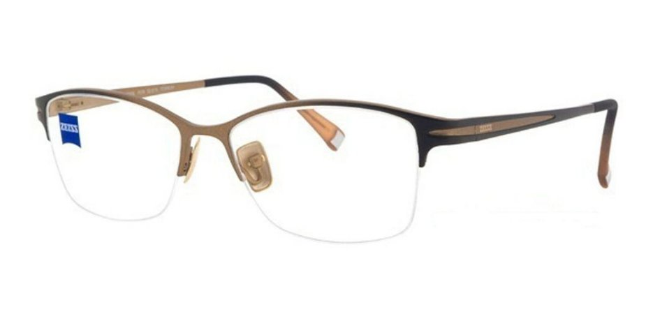 Óculos Armação Zeiss Zs-30006 F019 Masculino Titanium