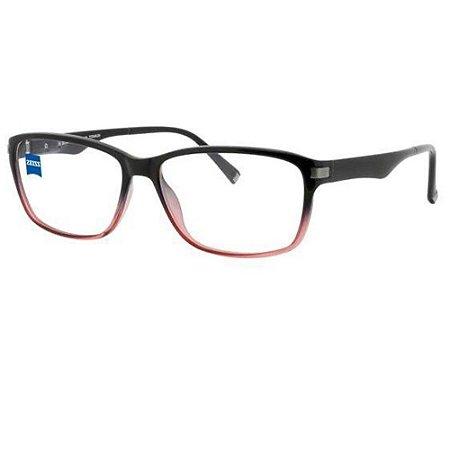 Óculos Armação ZEISS ZS-10003 F930 Preto Acetato Feminino