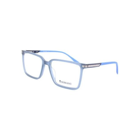 Óculos Armação Romano RO1106 C3 Azul Translucido Acetato