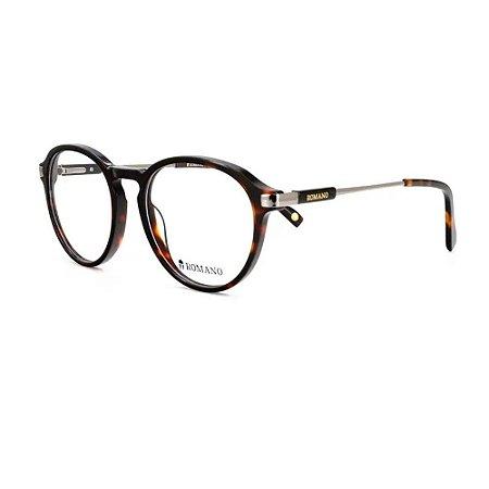 Óculos Armação Romano RO1116 C3 Tartaruga Acetato Feminino