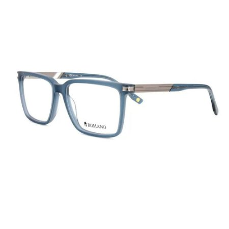 Óculos Armação Romano RO1113 C3 Azul Acetato Masculino