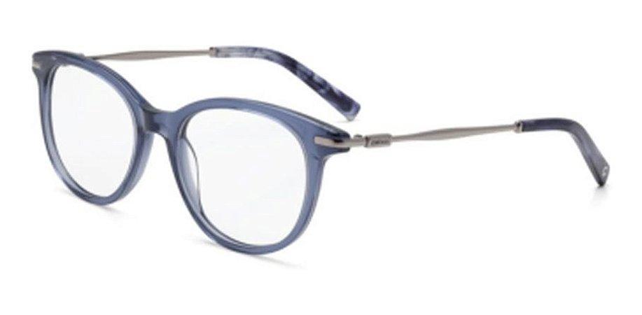 Óculos Armação Colcci C6090 Db450 Azul Translucido Feminino