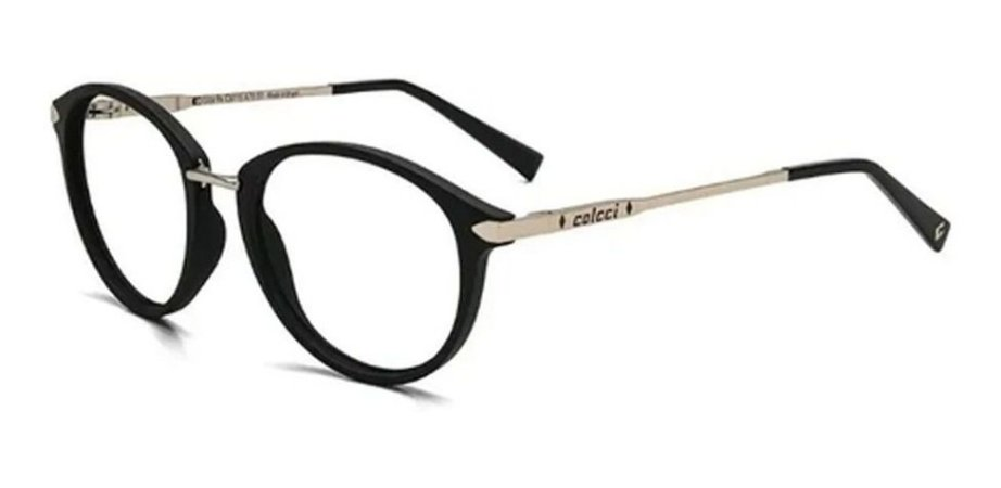 Óculos Armação Colcci C6115 A7051 Preto Fosco Feminino