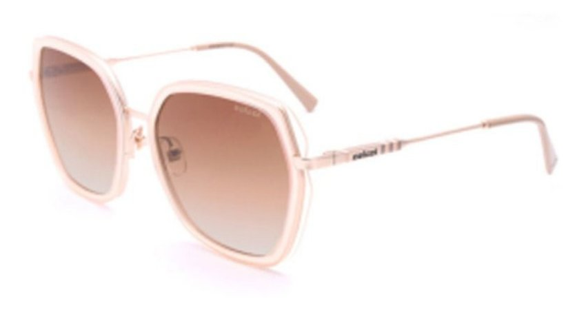 Óculos Solar Colcci C0163 E11 34 Nude Translucido Feminino