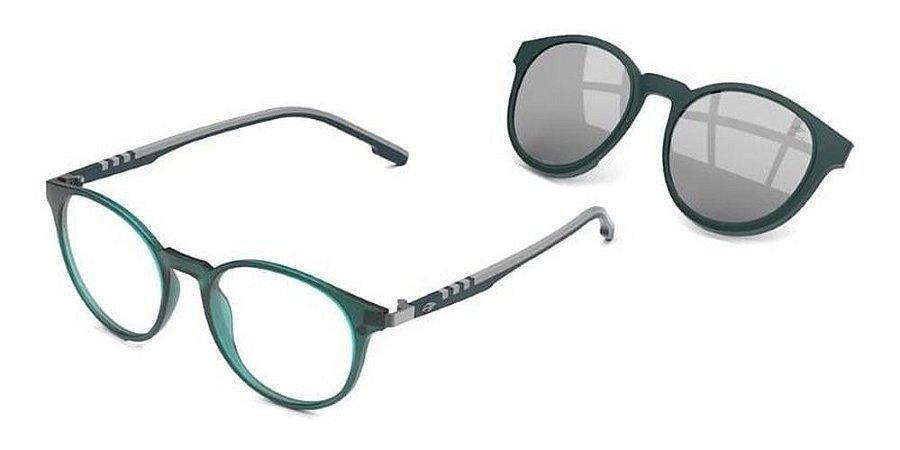 Óculos De Grau Mormaii Swap 2 M6071k0451 Azul + Clip-on