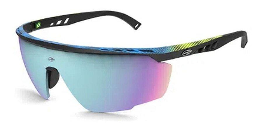 Óculos De Sol Mormaii Leap M0093ahd98 Preto / Espelhado