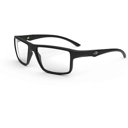 Óculos Armação Mormaii Istambul M6107 ABC Preto Masculino