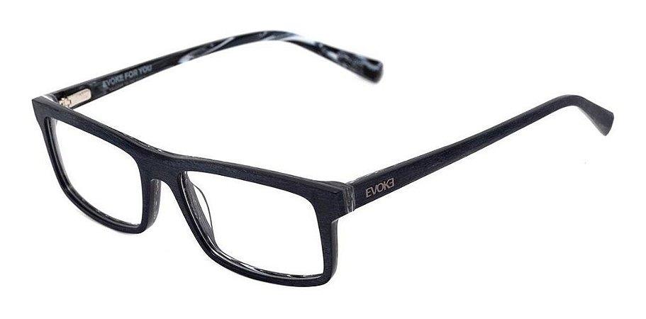Óculos De Grau Evoke For You Dx27 H02 Cinza Escovado